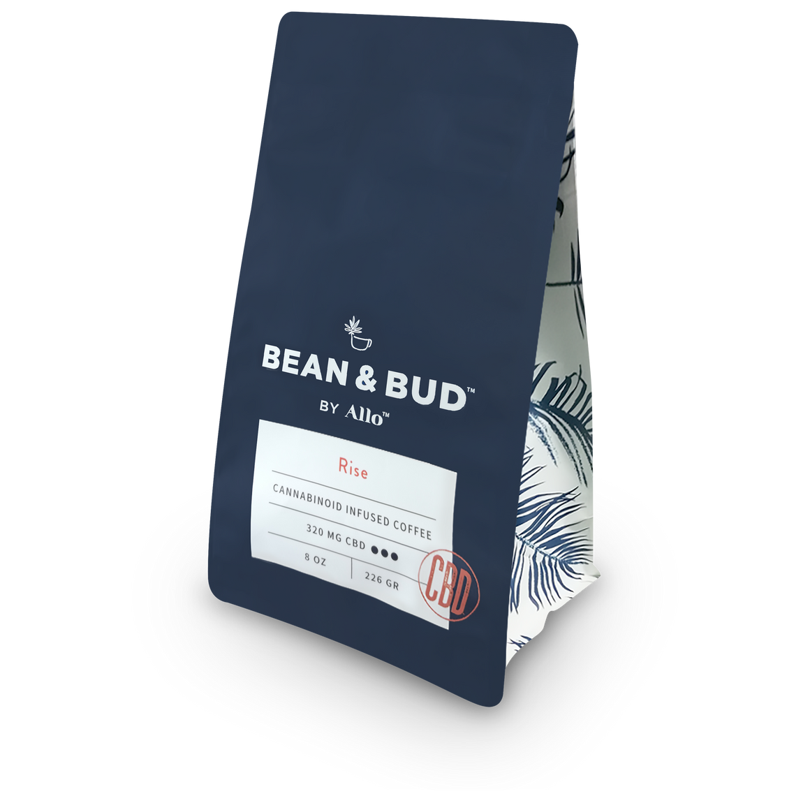 Bean and Bud CBD Coffee - Rise at Modest Hemp Co.