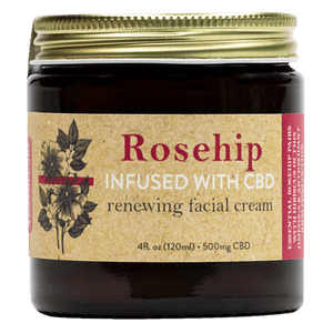 Renewing Rose Hip Face Cream at Modest Hemp Co.