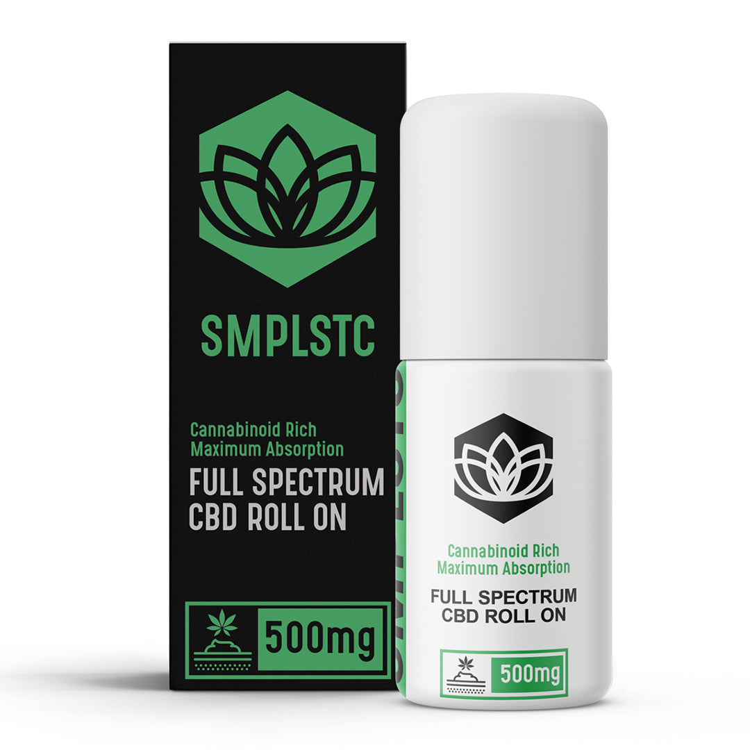 SMPLSTC CBD Topical- Roll On