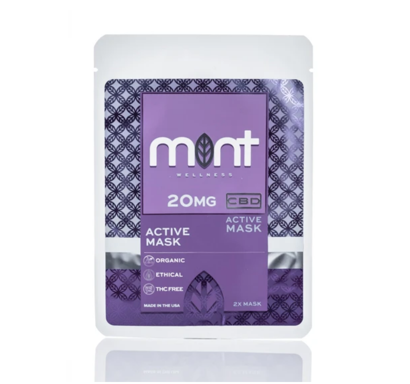 Mint Wellness CBD Face Mask at Modest Hemp Co.