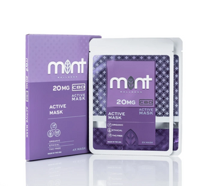 Mint Wellness CBD face mask 2 Pack at Modest Hemp