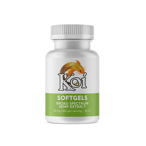 Koi CBD Softgels - Regular for sale at Modest Hemp Co.