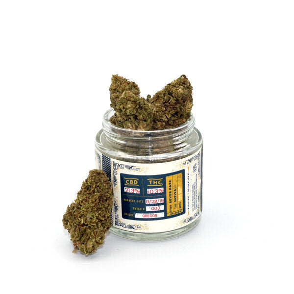 Botany Farms CBD Hemp Flower - Suver Haze at Modest Hemp Co.