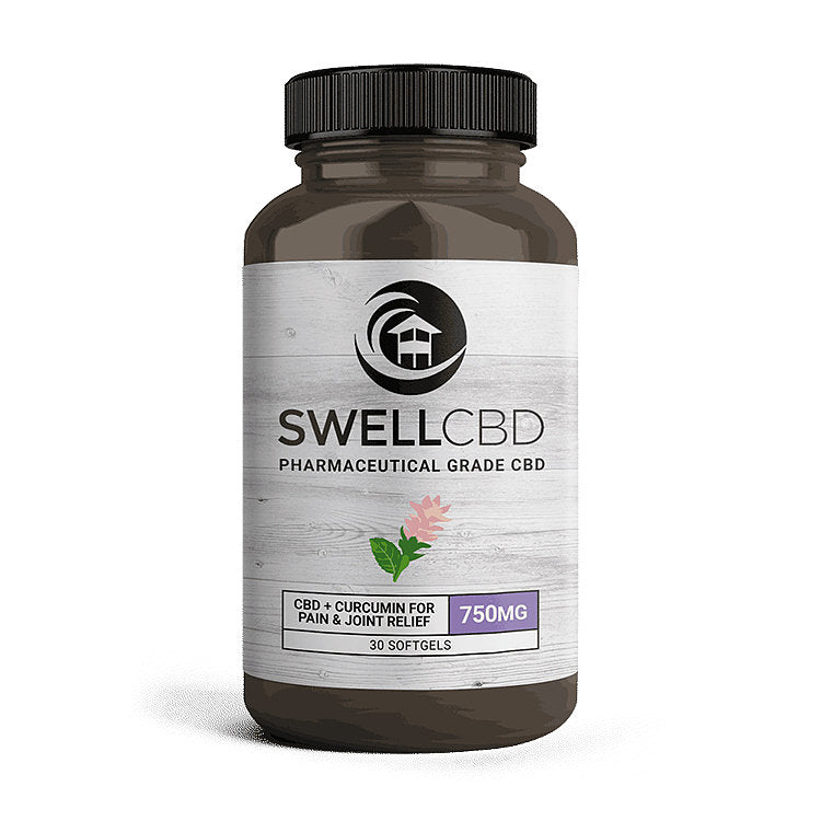 Swell Hemp Capsules with Curcumin