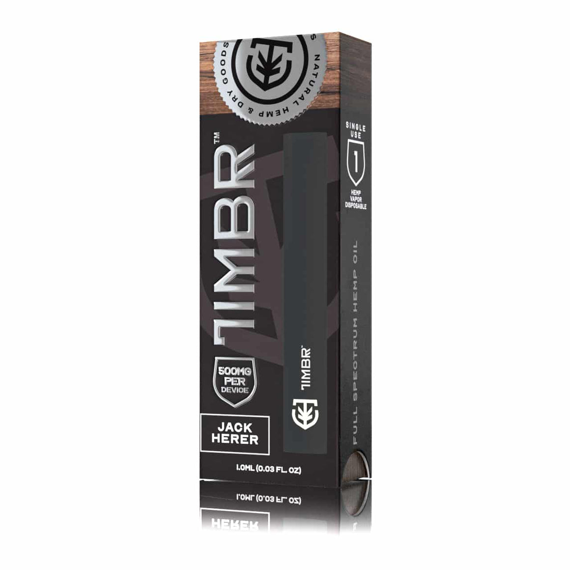 TIMBR Organics - Jack Herer CBD Disposable Vape Pen at Modest Hemp Co.