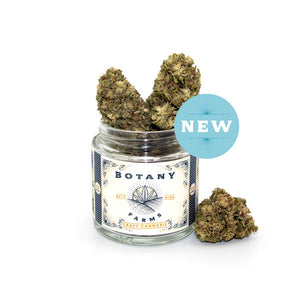 Botany Farms CBD Hemp Flower - White CBG at Modest Hemp Co.