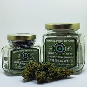 The Trophy Wife CBD Hemp Flower at Modest Hemp Co.