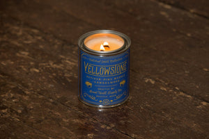 Good and Well Supply Co. Yellow Stone Candle - for sale - at Modest Hemp Co.