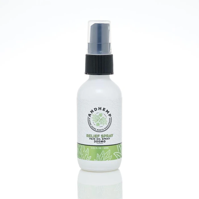 AndHemp by Reef CBD Topical-  Pain Oil Spray 500mg