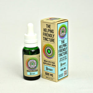 Berry Broad Spectrum CBD Tincture by Helping Friendly Hemp Co at Modest Hemp Co.