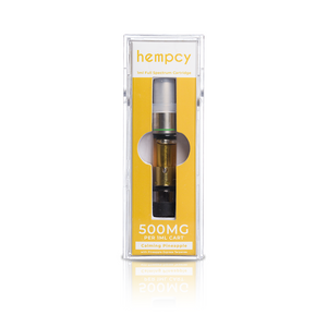Hempcy CBD Vape Cartridge- Pineapple