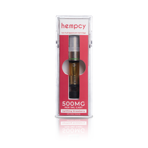 Hempcy CBD Vape Cartridge- Strawberry