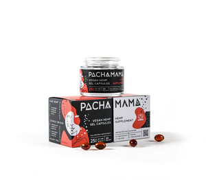 Pachamama CBD Gel Capsules - 750mg for sale at Modest Hemp Co.