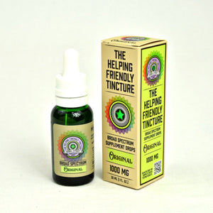 Original Broad Spectrum Tincture by Helping Friendly Hemp Co. at Modest Hemp Co.