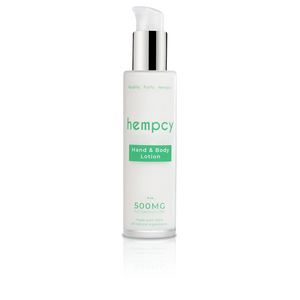 Hempcy CBD Lotion- Hand and Body