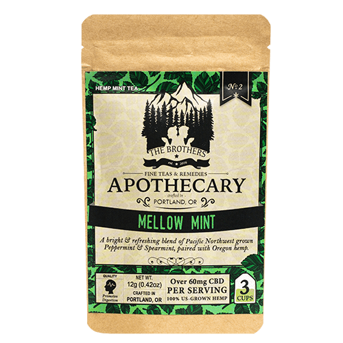 Mellow Mint - CBD Tea - Brother's Apothecary at Modest Hemp Co.