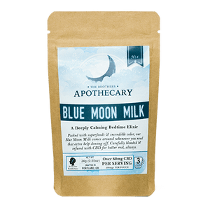 CBD Moon Milk Latte Mix - The Brother's Apothecary - Modest Hemp Co.
