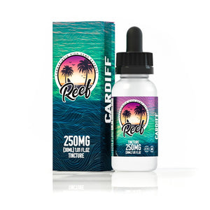 Reef CBD Oil Tincture- Cardiff Blue Raspberry 30ml