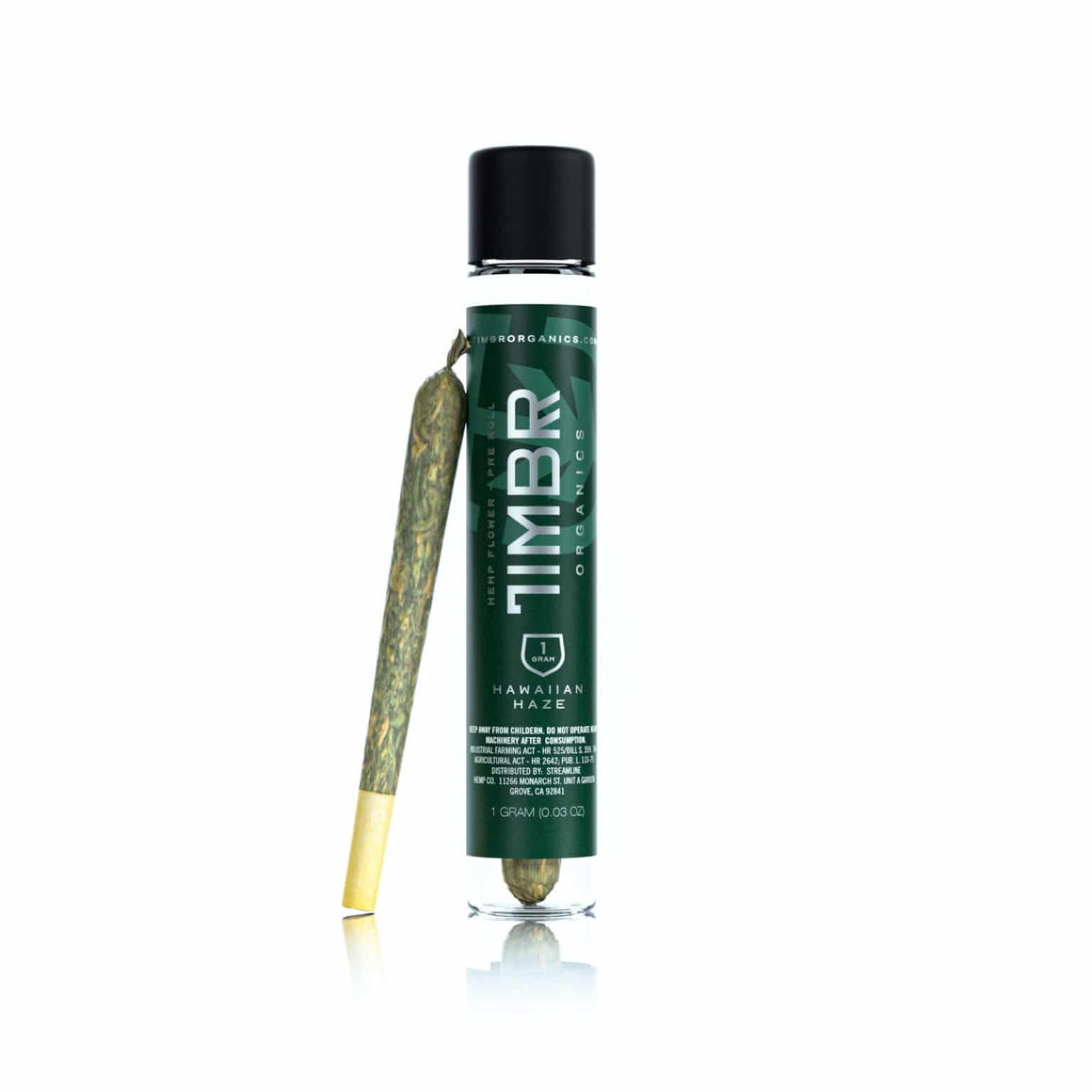 TIMBR Organics Hemp Flower Pre-Roll - Hawaiian Haze - Modest Hemp Co.