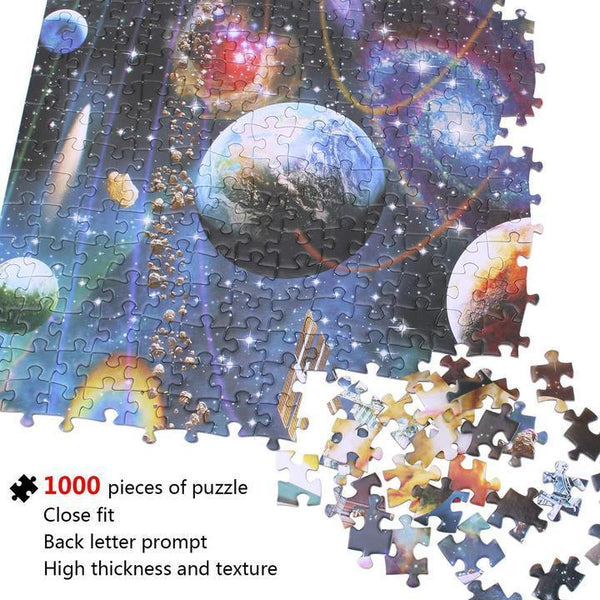 1000 PCS Love Stamps - Puzzle Jigsaw