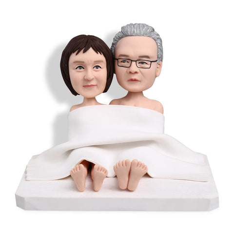 Blanket Couples Custom Bobblehead COUPLES My Bobblehead