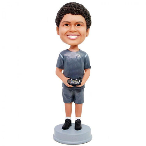 Boy With Gamepad Custom Bobblehead KIDS My Bobblehead