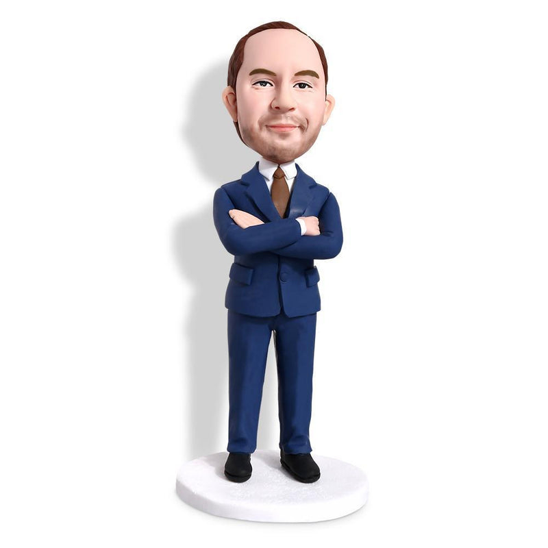 Businessman Custom Bobblehead WORKS My Bobblehead