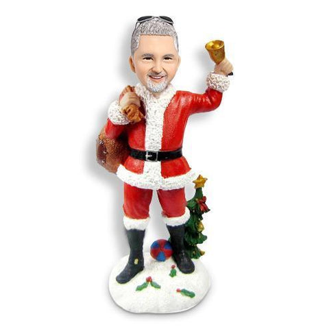 Christmas Gift Man Custom Bobblehead Christmas My Bobblehead