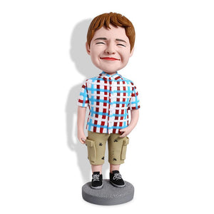 Cute Boy Custom Bobblehead KIDS My Bobblehead