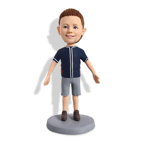 Cute Boys In Casual Clothes Custom Bobblehead KIDS My Bobblehead