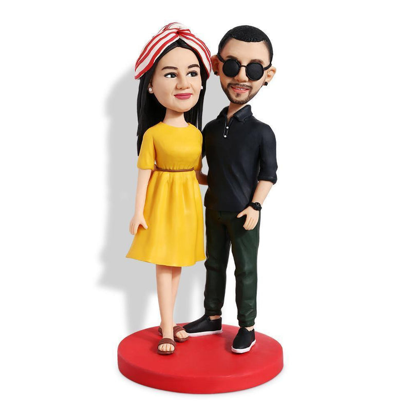 Fashion Couple Custom Bobblehead COUPLES My Bobblehead