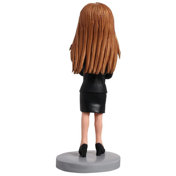 Female Executive Custom Bobblehead WORKS My Bobblehead