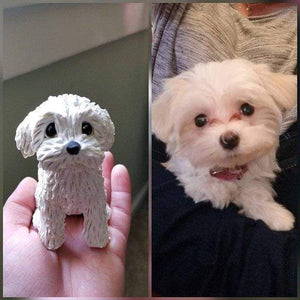 Fully Customizable One Pet Sculpture Custom Dog Statue 100% CUSTOM My Bobblehead