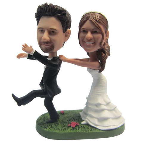 Funny Style Wedding Custom Bobblehead WEDDING My Bobblehead