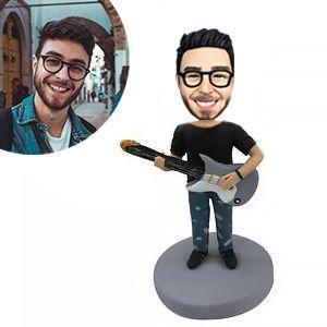 Guitar Man Custom Bobblehead Musician My Bobblehead