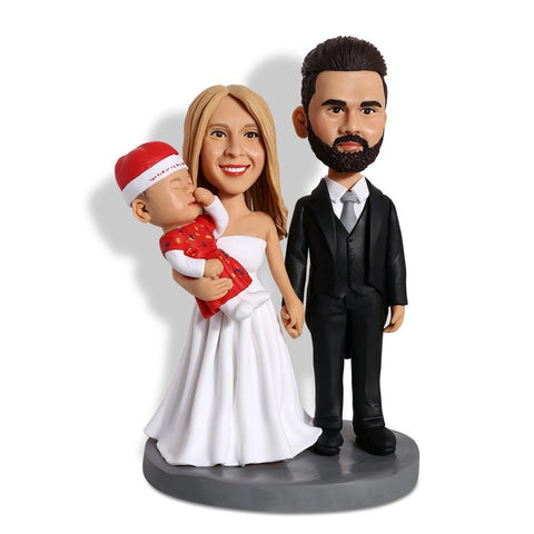 Happy Family Custom Bobblehead COUPLES My Bobblehead