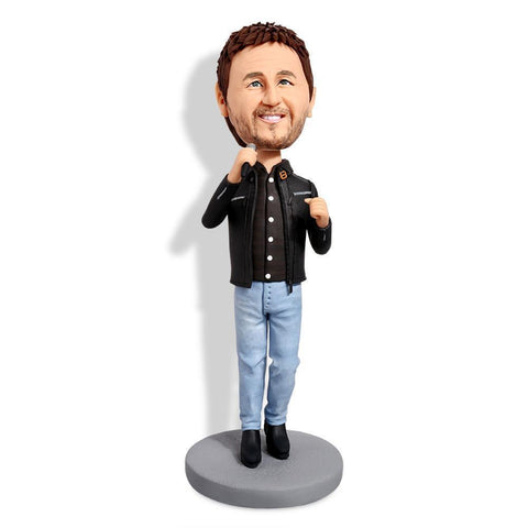 I Love Singing Custom Bobblehead Musician My Bobblehead