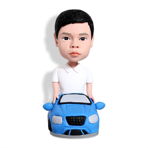 Kid In Car Custom Bobblehead KIDS My Bobblehead