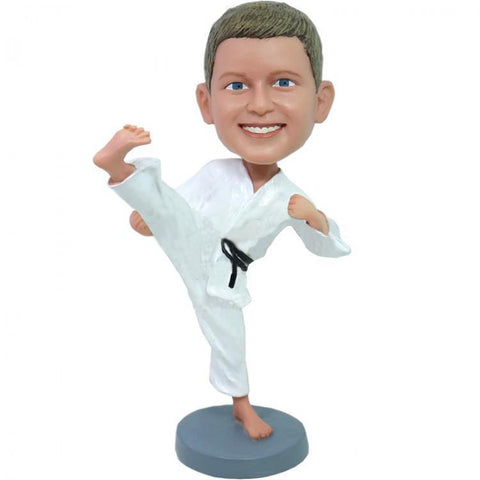 Kung Fu Boy Custom Bobblehead KIDS My Bobblehead