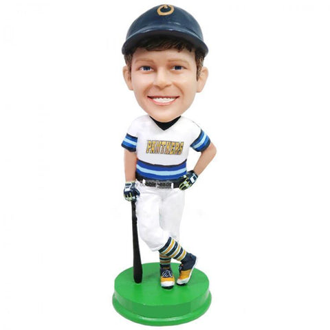 Little Baseball Batsman Custom Bobblehead KIDS My Bobblehead