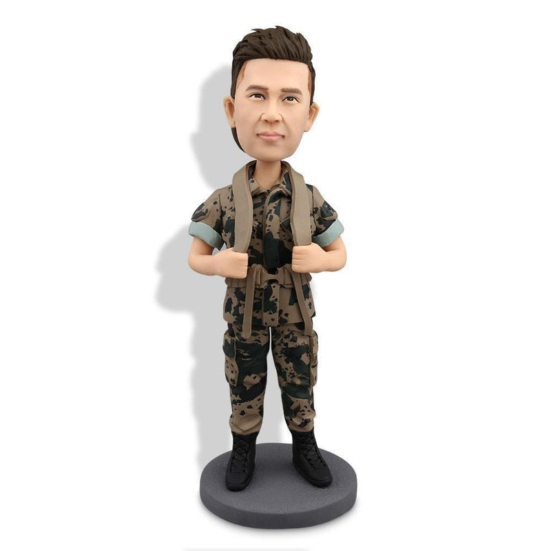 Military Army Custom Bobblehead POLICE&SOLDIER My Bobblehead