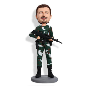 Navy Seal Army Custom Bobblehead POLICE&SOLDIER My Bobblehead