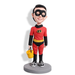 Super Boy Custom Bobblehead KIDS My Bobblehead