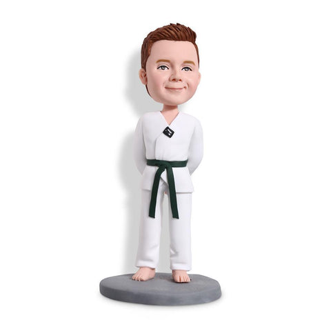 Taekiwondo Boy Custom Bobblehead KIDS My Bobblehead