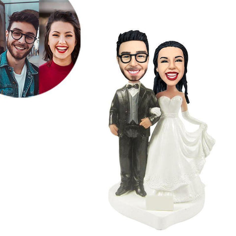 Wedding Custom Bobblehead WEDDING My Bobblehead