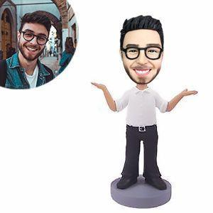 What's Up Man Custom Bobblehead LEISURE My Bobblehead