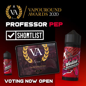 Professor Pep & Vapouround Awards 2020