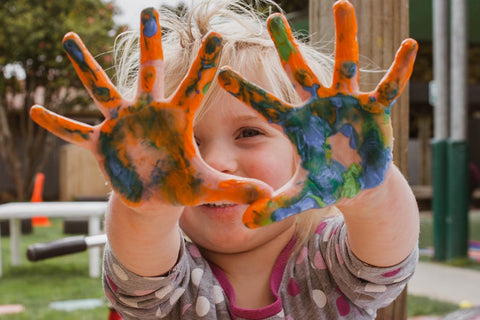 kids messy play