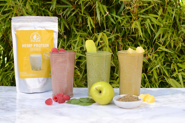 Hemp Protein Smoothies