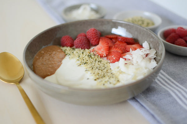 Hemp Seed Breakfast Bowl